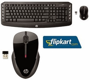 HP Wireless Mouse worth Rs.941 for Rs.549 Only   HP Classic Wireless Multimedia Keyboard & Mouse Combo worth Rs.1848 for Rs.1169 Only @ Flipkart (Limited Period Offer)