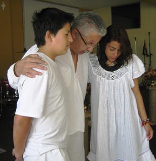 Jóvenes valientes dando testimonio de su desición