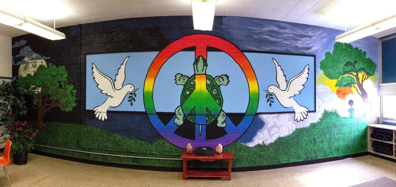 Peace Room Mural