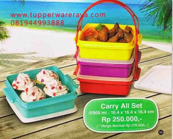 Katalog Tupperware Promo Mei 2014 carry all set