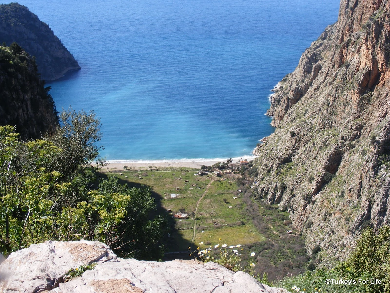 Butterfly Valley From The Lycian Way - A Photo • Turkeys For Life