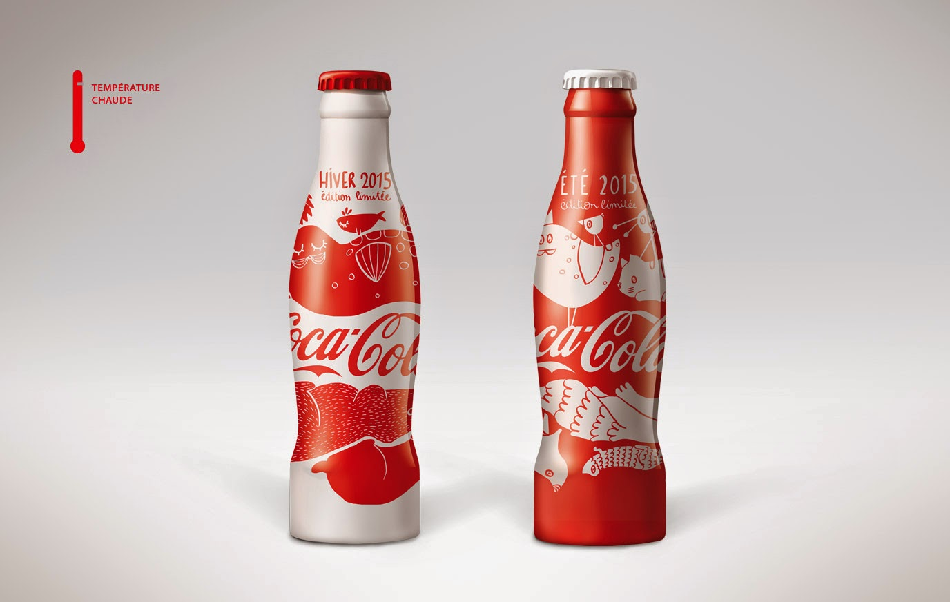 aluminum bottle collector club coca cola summer winter aluminum bottle 2015 france. Black Bedroom Furniture Sets. Home Design Ideas