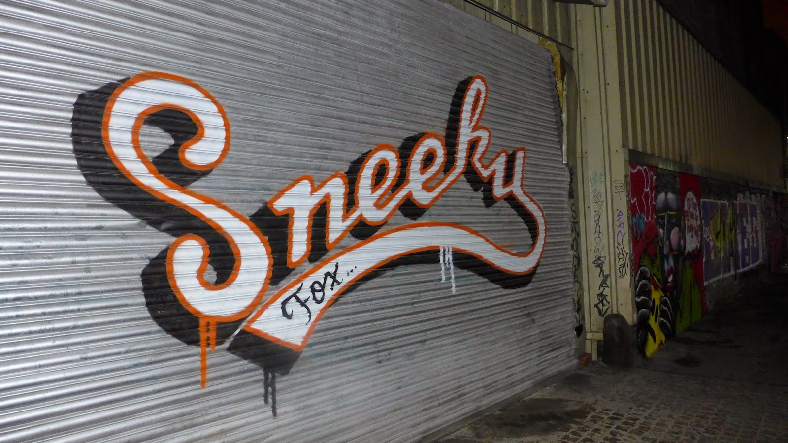 Sneeky Fox Street Art