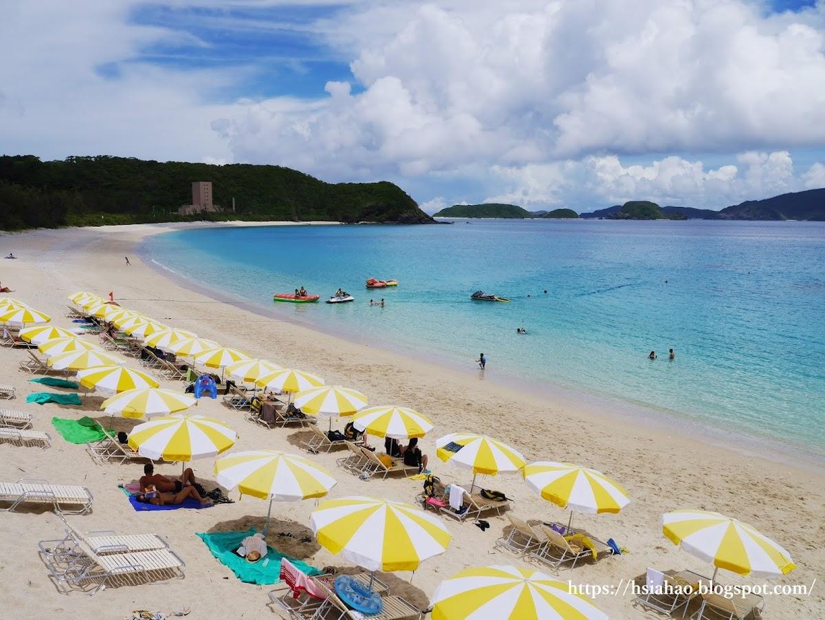 沖繩-古座間味海灘-beach-古座間味ビーチ-慶良間群島-座間味島-景點-推薦-自由行-旅遊-Okinawa-kerama-islands-zamami