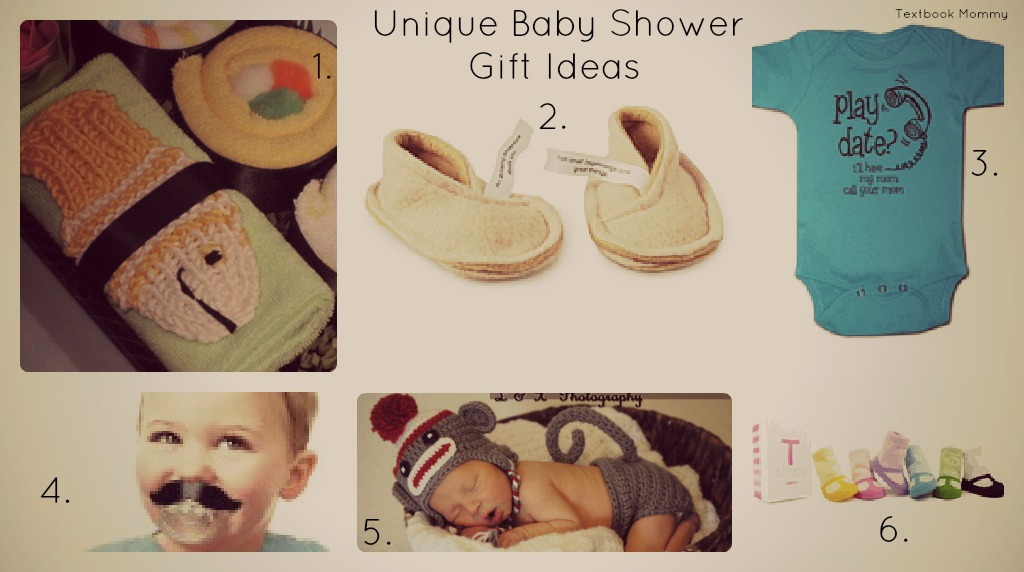 textbook mommy unique baby shower gift ideas
