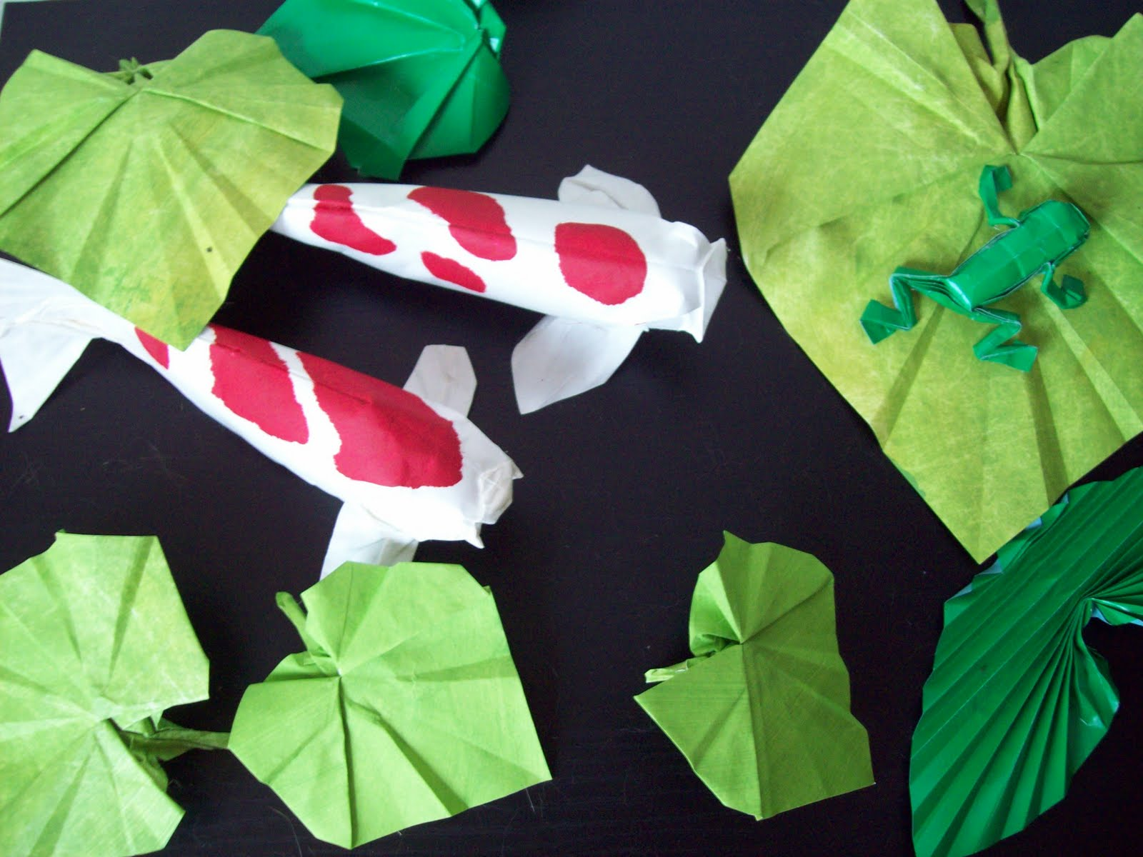 The Midnight Carver: Continuing the Origami Pond - photo#35