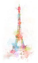 Torre Eiffel (Aquarela)