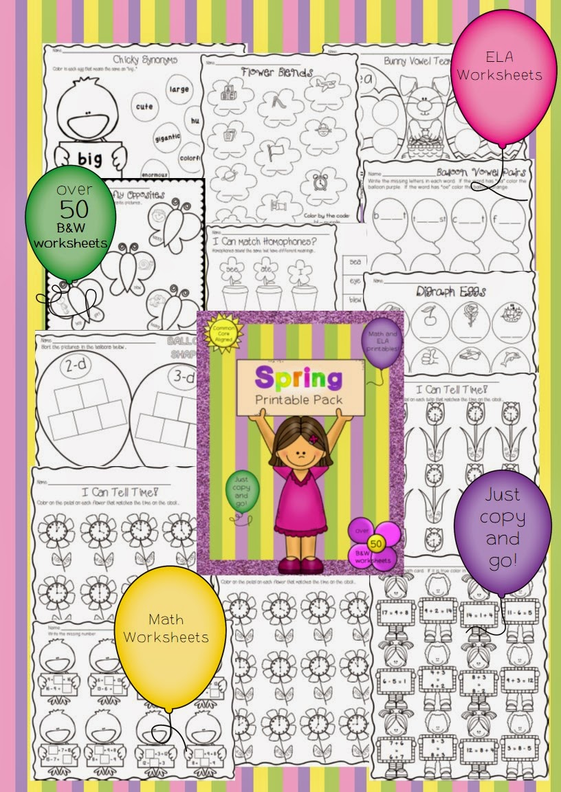 https://www.teacherspayteachers.com/Product/Spring-Printable-Pack-Over-50-Printables-to-cover-tons-of-ELA-and-Math-Skills-1173746