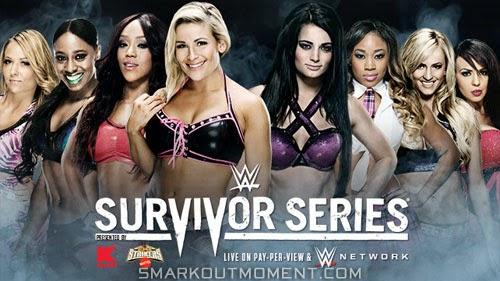 Alicia Fox, Natalya, Naomi, Emma, Paige, Cameron, Summer Rae, Layla