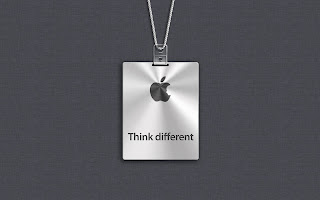 Apple Think Different Steve Jobs Minimal HD Wallpaper