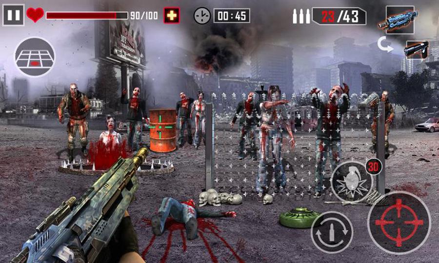 Игра зомби на русском