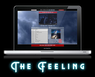 The Feeling, pre-order, album, boy cried wolf, splash page