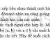 Bài toán thiết lập lại các vạch ngăn của quân cờ Đôminô - TS Trần Nam Dũng