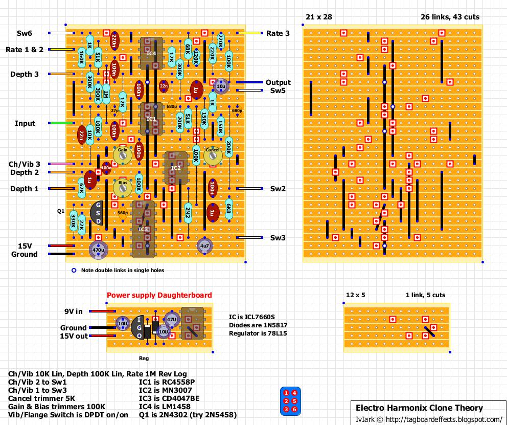 Guitar Fx Layouts Electro Harmonix Clone Theory Lm358 Op Amp Block Diagram Http Worldtechnicalblogspotcom 2012 01 An Error Occurred