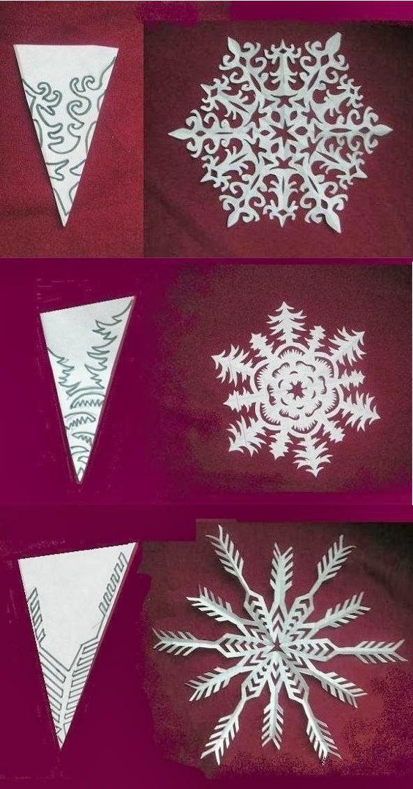 Как сделать самому красивые снежинки из бумаги 374