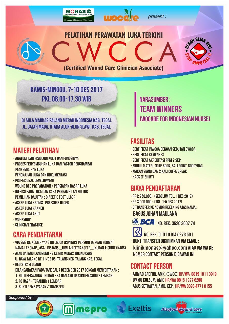 Pelatihan CWCCA Tegal 2017