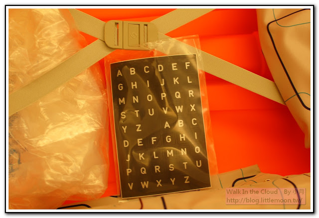 貼心提供字母貼
