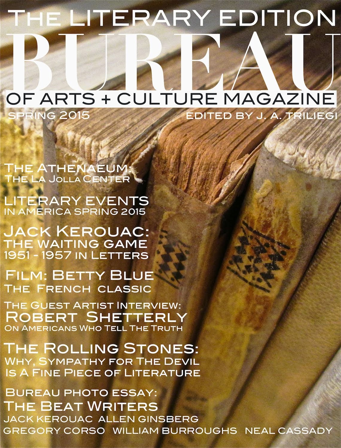 SPRING 2015 LITERARY EDITION OF MAGAZINE