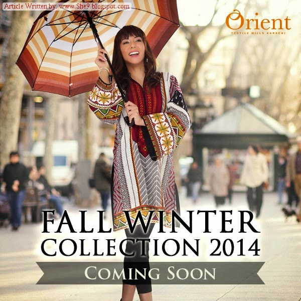 Latest Collection of Orient Winter Dresses