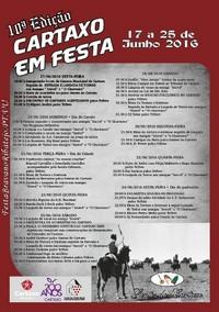 Cartaxo- Festas da Cidade 2016- 17 a 25 Junho