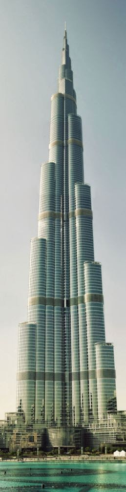 The Tallest Building , Burj Khalifa Dubai