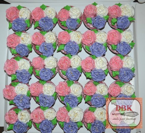 Set Cupcakes Buttercream