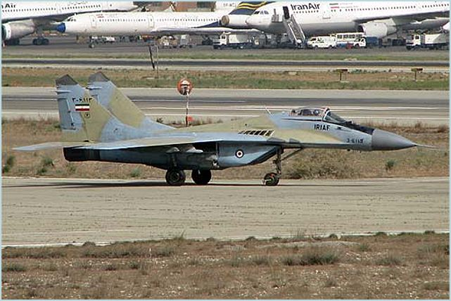 IRIAF MiG-29 Fulcrum - Islamic Republic of Iran Air Force (IRIAF ...