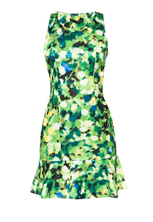 Moonriver Denise Tulip Dress in Green