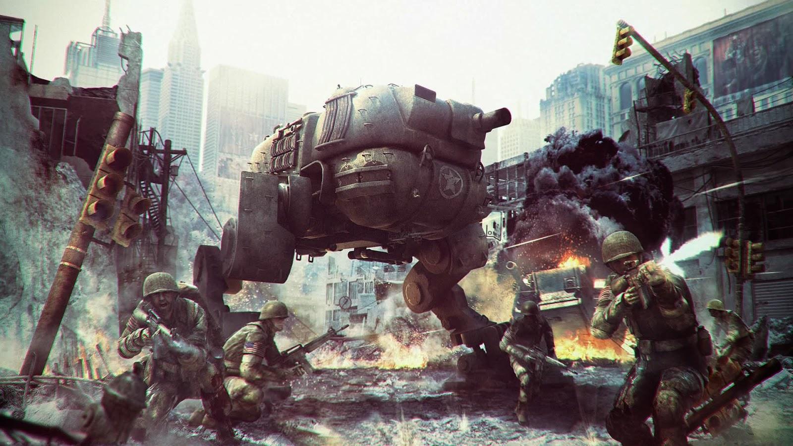 papel de parede para pc de jogos de guerra