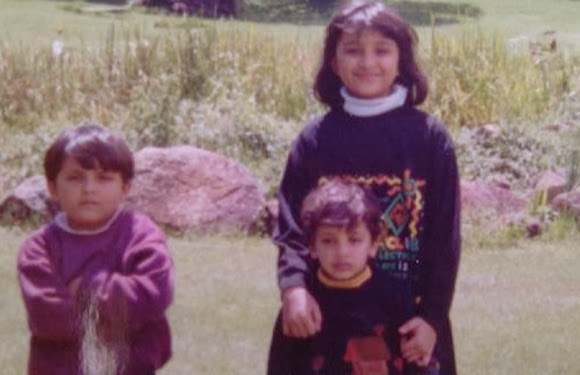 childhood rare photos of Parineeti Chopra