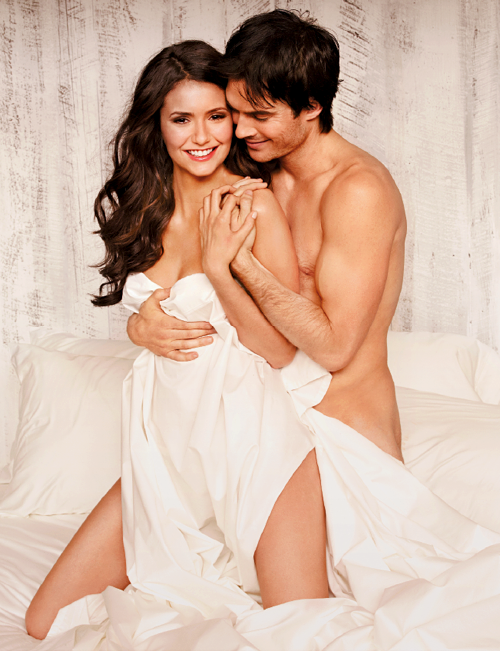 Elena And Demon | Nina And Ian Somerhalder | Nude Romance