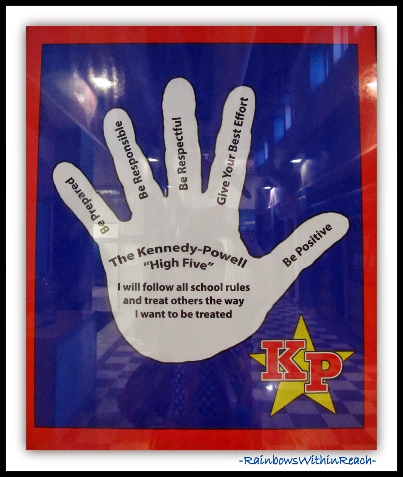 """High Five"" Behavior Goals in Elementary School"