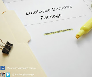 Employee Massage Benefits - Academy Massage - Massage Therapist Winnipeg