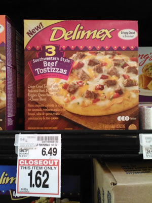 delimex beef tostizzas for only a dollar at krogers
