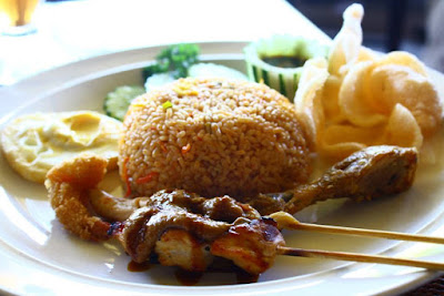 Balinese Fried Rice at Bebek Joni at Ubud