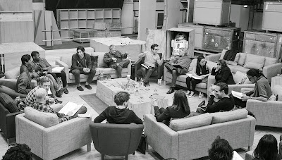 Mark Hamill, Carrie Fisher, Harrison Ford, J.J. Abrams