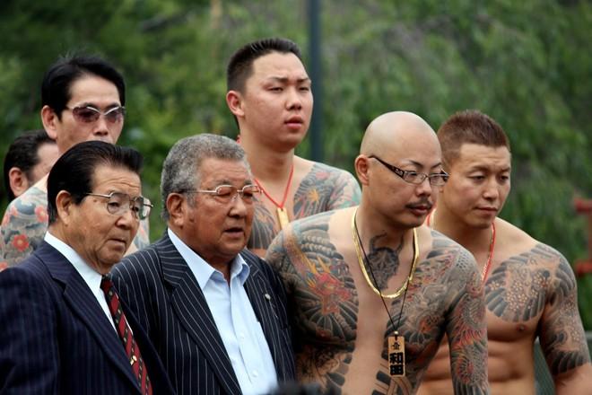 Mafia Nhật Bản xăm hình