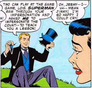 Jimmy Olsen Fakes His Death