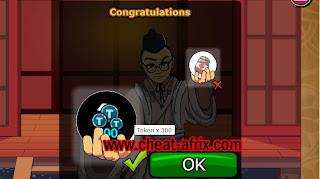 How to Get 2000 Token Lucky Draw Ninja Saga 4th Anniversary