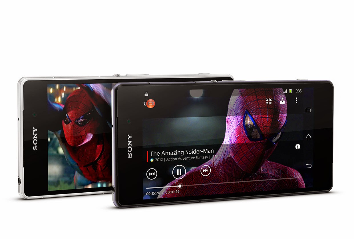 Sony Xperia Z2 Great Resolution for Entertainment