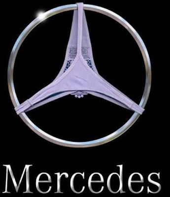 funny picture, sexy, mercedes, benz, logo