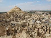 Ruinas del santuario de ZeusAmón en el oasis de Siwa.