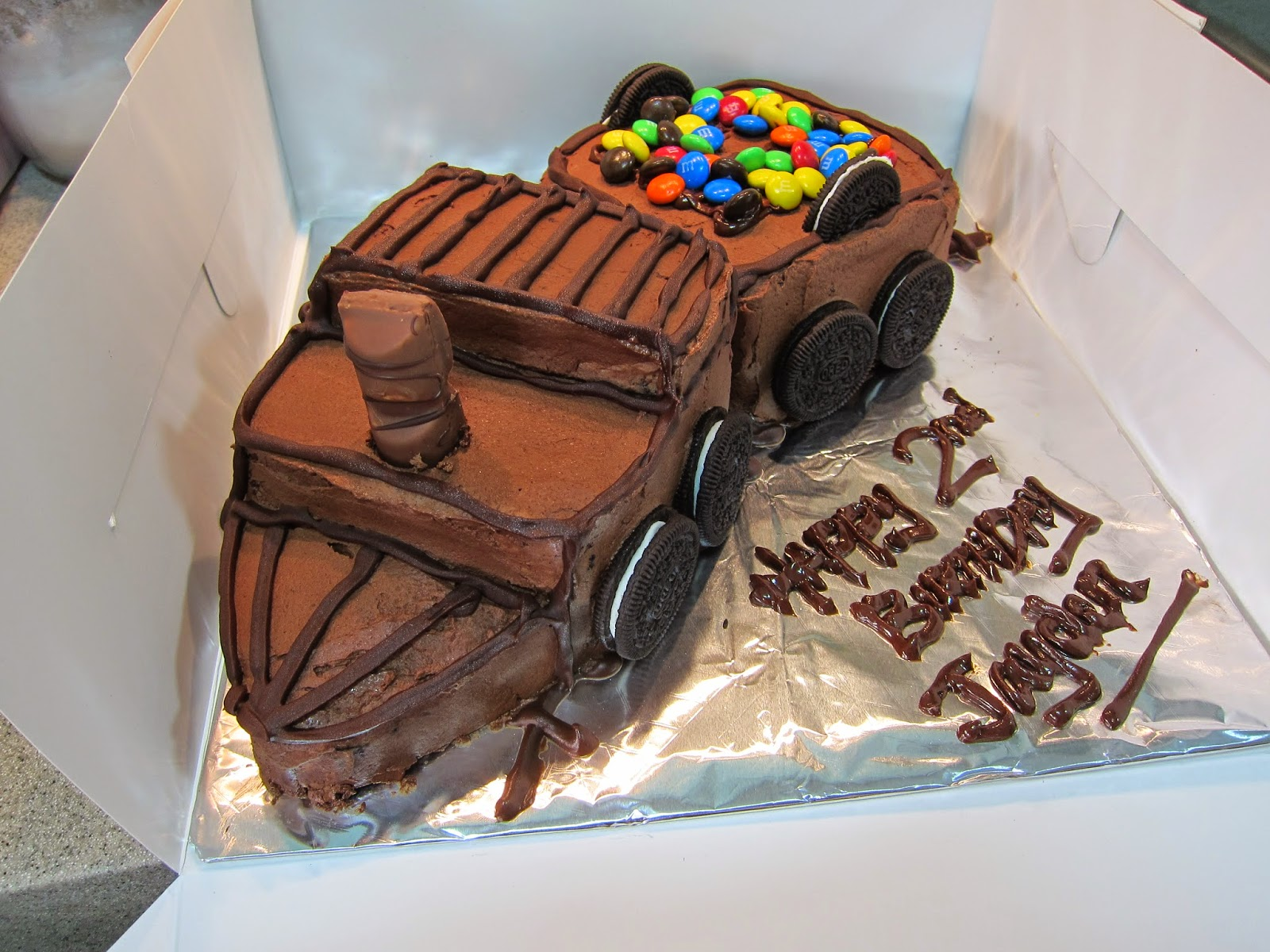 Miss Coco Eats Ii Devils Food Birthday Cake
