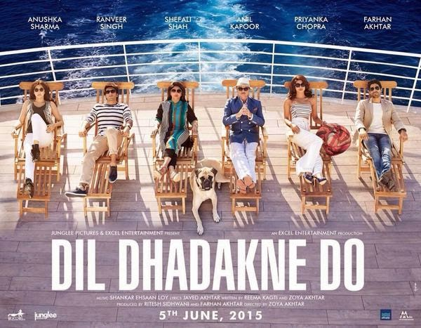 Dil Dhadakne Do movie Details,Wallpapers, posters, Images of Ranveer Singh, Priyanka Chopra, Anushka Sharma, Farhan Akhtar.