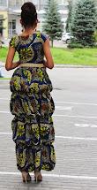 Long Ankara African Style Dresses