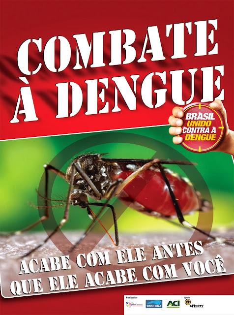 Cartazes contra a dengue