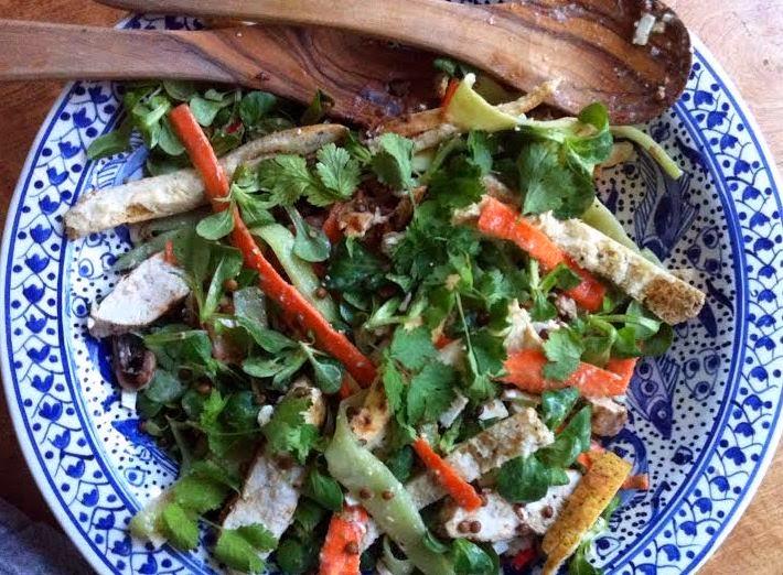 Train Mean, Eat Clean: Chicken Tikka Salad