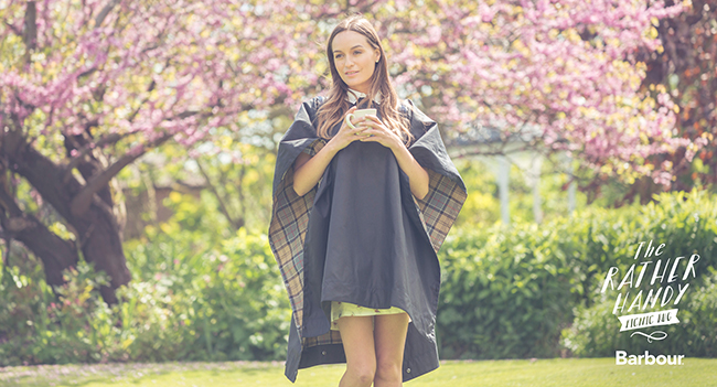 Barbour Poncho