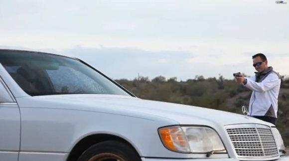 Pengujian Mercedes S600