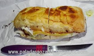 La Ruta de la Milanesa sandwich entero